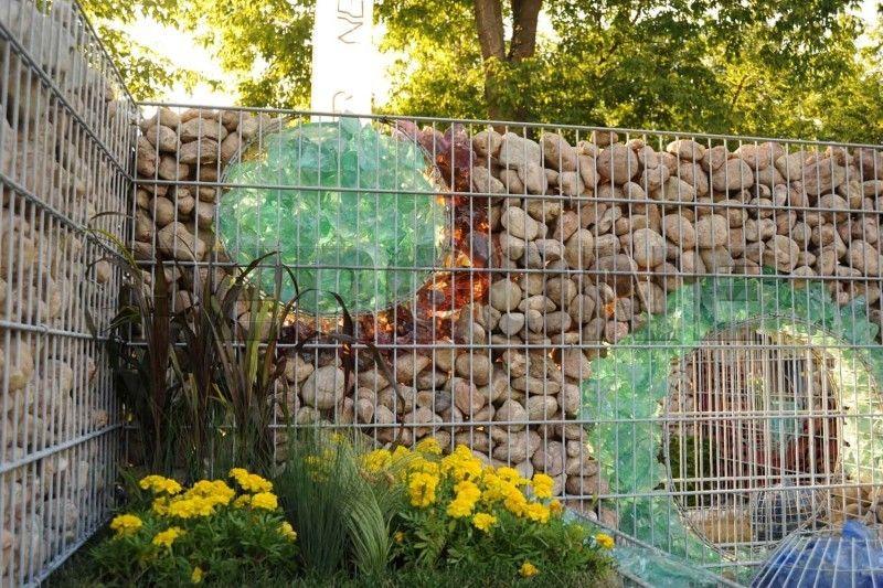 Стеклянный забор своими руками 296